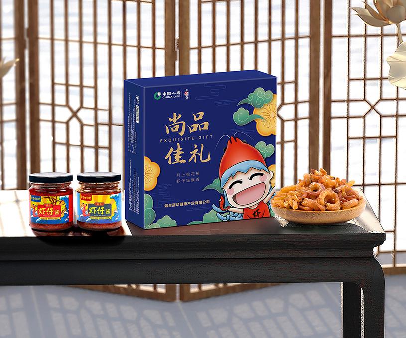 冠华健康产业食品系列品牌包装